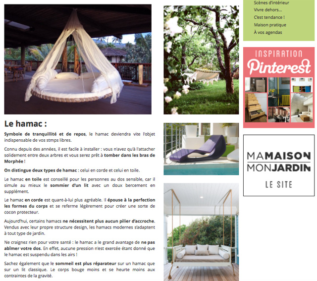 Contenu article de blog Ma Maison Mon Jardin