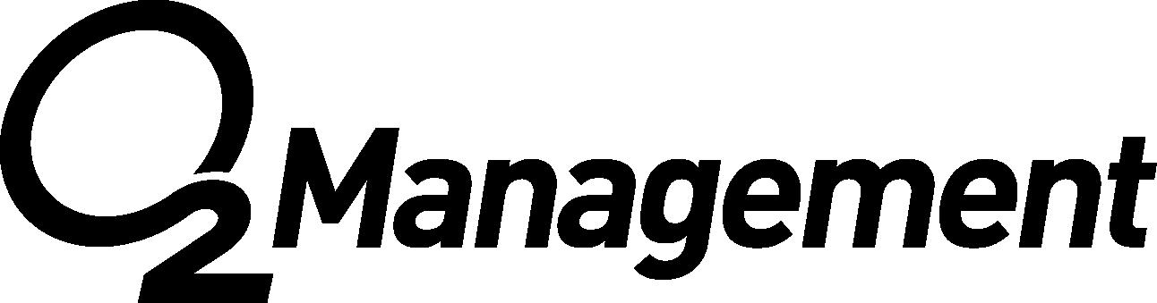 Logo O2 management, agence spécialisée représentation de sportifs