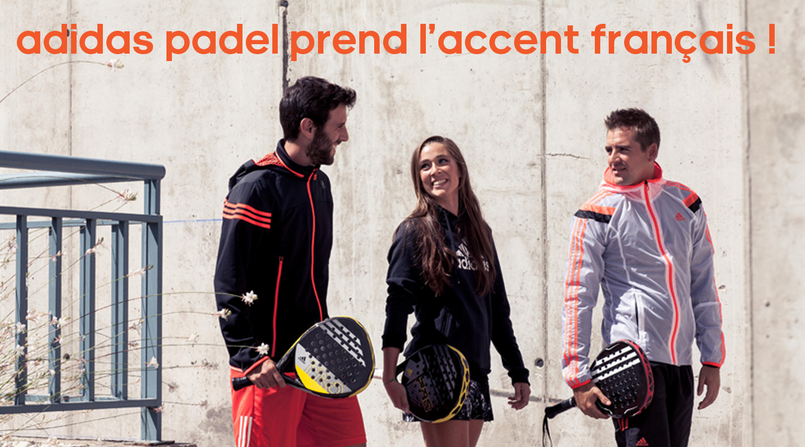 Community management  - Gestion et animation page Facebook adidas padel France