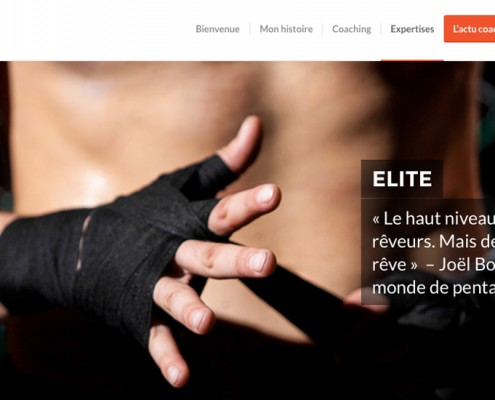 Page expertise élite sportif de haut niveau - Com'On Events