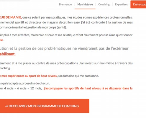 Présentation d'Olivier Dulac, coach en performances sportives