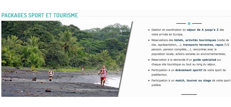 Sport, tourisme et RSE...