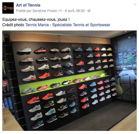 Art of Tennis, le label des magasins spécialisés tennis