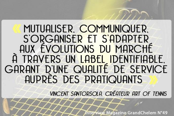 Teaser Art of Tennis Vincent Santorsola
