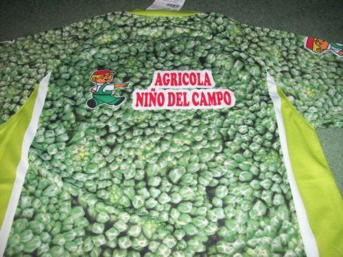 Maillot brocolis de l'équipe La Hoya Lorca