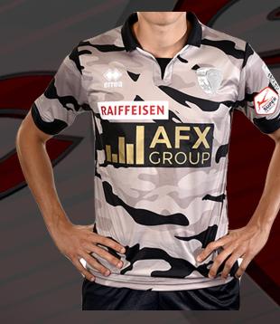 Maillot camouflage pour l'équipe suisse du FC Sion