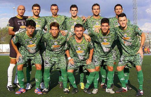 Maillot avec images de brocolis pour une équipe de foot espagnole