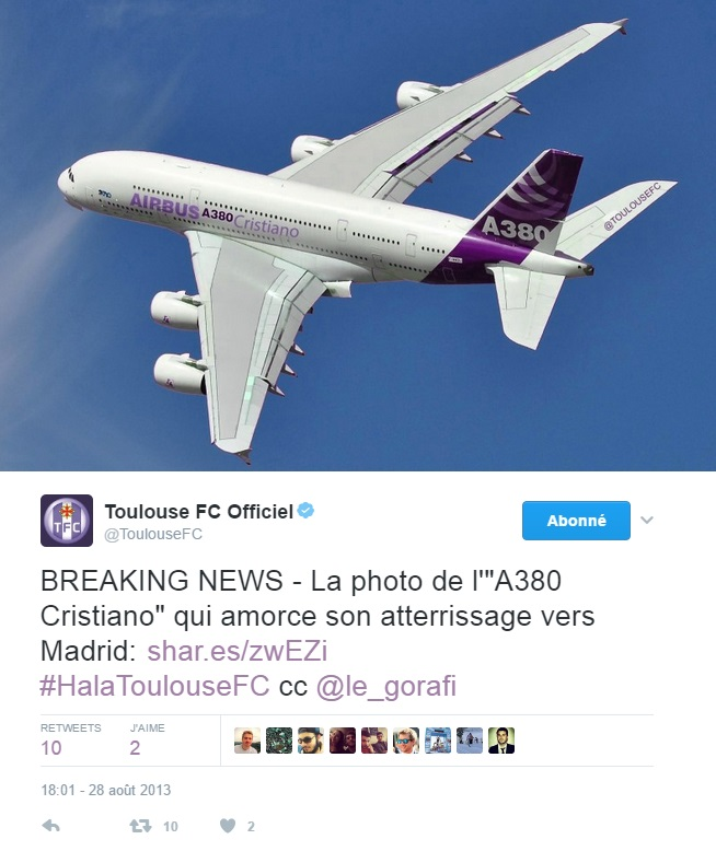 avion-Airbus-cristiano-Ronaldo-A380-Toulouse-FC-le-Gorafi